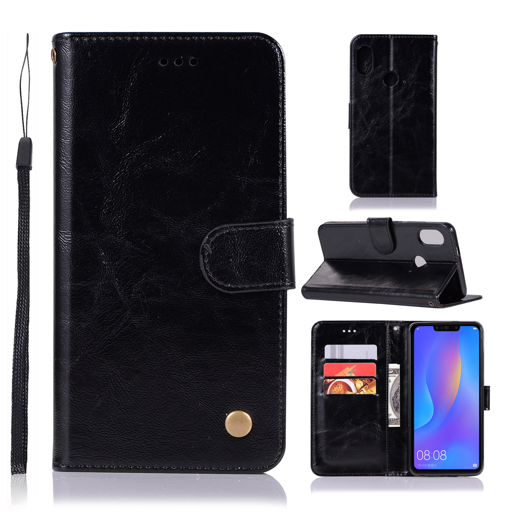 Various brands of mobile phone retro leather case with wallet