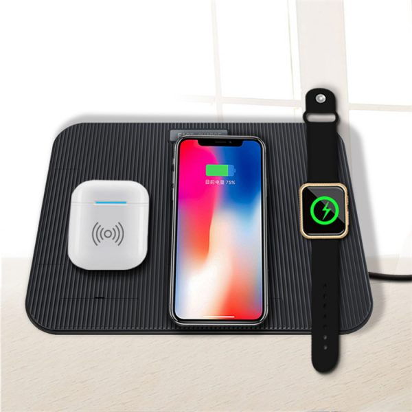 Most popular multi-function wireless charger stand 4 in1 wireless charging bracket