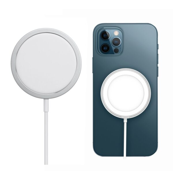 Hot Sale Wireless Charger for iPhone12 Magnetic Magsafe Wireless Charger For iPhone 12