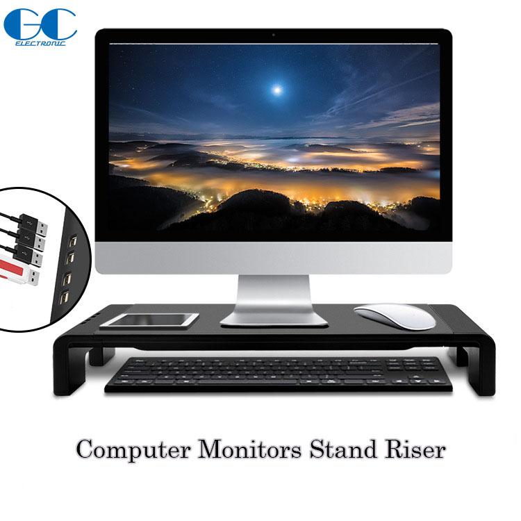 Monitor Stand Riser Laptop Stand Desk Organizer