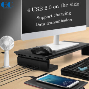 Universal Computer Monitor Stand with Hub