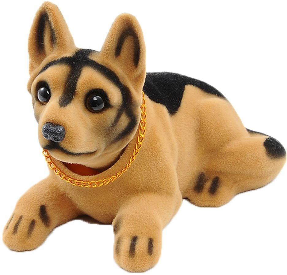 Ebow Dashboard Head Dogs Nodding Heads Car Dash Puppy for Car Vehicle Decoration