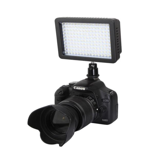 3200-5600K 160leds photography led video light camera photo light for Canon Nikon