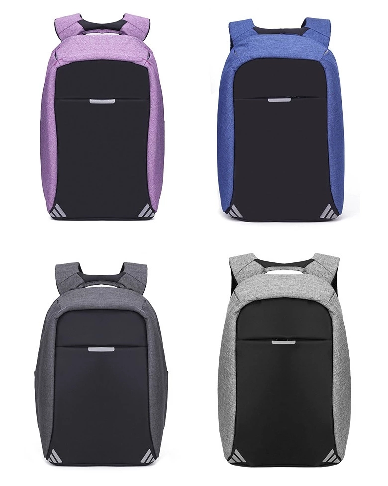 """15.6"""" Laptop Backpack, Anti-theft Travel Backpack, Business School Bookbag with USB Charging Port for Men & Women"""